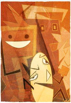 Penny Arcade - Pac Man Meets Art History.
