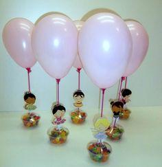 enfeites de mesa para festa infantil - Pesquisa Google