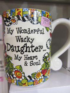 Daughter Mug £9.95