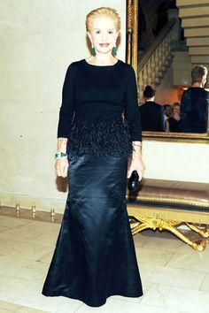 PURE PERFECTION   Mark D. Sikes: Chic People, Glamorous Places, Stylish Things        Carolina Herrera always best dressed