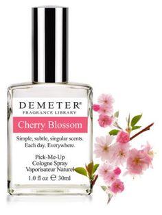 Cherry Blossom  Dancing with Demeter Fragrances #dancewithdemeter