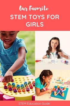 Best STEM toys & science kits for girls. These awesome toys were designed with a female engineer in mind. While I think girls can play with any building or engineering toy they want, these are pretty awesome too!