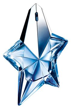 Signature scent: Angel. Love this perfume and it happens to be blue!