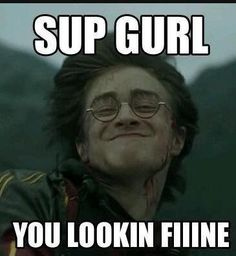 25 MORE Hilarious Harry Potter Memes SMOSH I know this isn't Disney but i thought it was funny Mundo Harry Potter, Harry Potter Puns, Harry Potter Pictures, Harry Potter World, Hogwarts, Doug Funnie, Sup Girl, Funny Pictures, Funny Memes