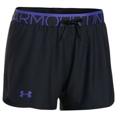 Women's Under Armour Play Up Shorts, Grey (Charcoal)