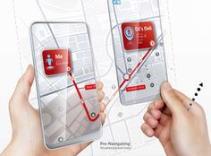 Space Age: Dual Screens Detach for Infinitely Sized Phone Augmented Technology, Augmented Virtual Reality, Futuristic Technology, Concept Phones, Transparent Design, Transparent Screen, Wearable Computer, Machine Vision, Latest Phones