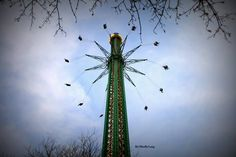 Vienna Amusement Park by:Mirella_Lang Amusement Park, Vienna, Ferris Wheel, Austria, Fair Grounds, Travel, Voyage, Viajes, Traveling