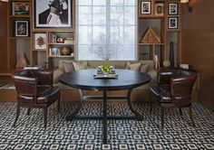 Soane's Quiver Klismos Chairs, Rosewood Hotel, London