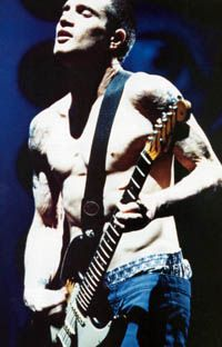 John Frusciante. Red Hot Chili Peppers were best With him. Brilliant musician. Awesome harmony.