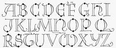 Margaret Shepherd: Calligraphy Blog: Capitals for Calligraphy