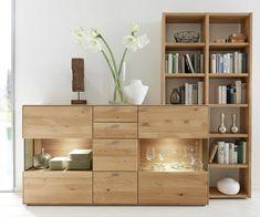 REGAL in 93,4/196,2/21 cm Eichefarben online kaufen ➤ XXXLutz Cupboard Design, Cabinet Furniture, Sideboard, Bookcase, 21st, Shelves, Modern, Industrial, Home Decor