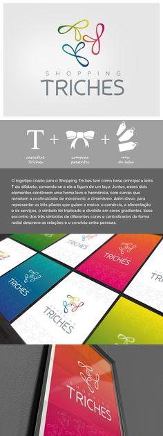 Logotipo: Shopping Triches     Designer: Ale De Rossi     Agência: Pit Comunicação