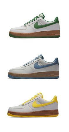 premium selection b03b5 9df6f Nike Air Force 1 Canvas Gum