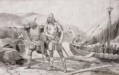 Ancient Norse seafarers who were inhumanly large, brutish, and killed everything in their path: these were the Vikings. At least, that's what popular culture wa Baby News, Viking People, Real Vikings, Norway Viking, Viking Culture, Celtic Thunder, History Images, Barbarian, Ancient Romans