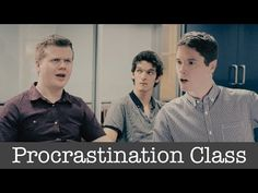 What if you could take a class in procrastination? collective noun - YouTube