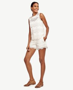 632bd0e6356c Meet the season s prettiest texture. City Shorts