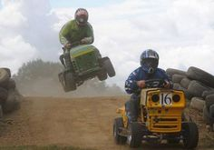 Lawn Mower Racing  It may not be quite as popular as Nascar, but there are multiple national organizations in the US. It is also popular in the UK and Australia.