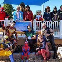 Super Hero Sunday at Maria's Field of Hope