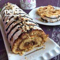 Elmalı Rulo Pasta #elmalırulopasta pastatarifleri #nefisyemektarifleri #yemektarifleri #tarifsunum #lezzetlitarifler #lezzet #sunum #sunumönemlidir #tarif #yemek #food #yummy
