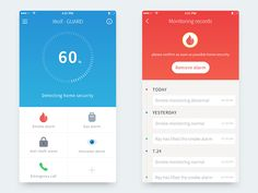 Smart anti-theft App by Machi—The Best iPhone Device Mockups → store.ramotion.com