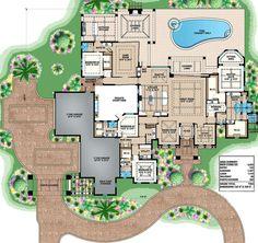 Modern Home Decor Bedroom Family House Plans, Ranch House Plans, Best House Plans, Dream House Plans, House Floor Plans, Coastal House Plans, Luxury House Plans, Modern House Plans, Luxury Floor Plans