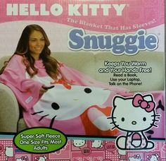 Hello Kitty Snuggie