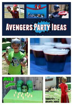 These are such fun ideas for an Avengers party! I love the carnival style games and the food is super easy. What a cool party idea!