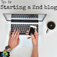 starting a second blog
