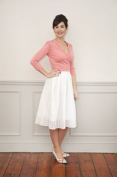 Sew Over It Lizzie Skirt | our new pleated skirt is sure to become a wardrobe staple