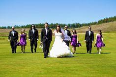 Golf course wedding!