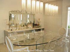 Construindo Minha Casa Clean: Qual Lustre ou Pendente Usar na Sala de Jantar?