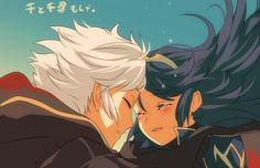 Robin and Lucina. Fire Emblem Awakening