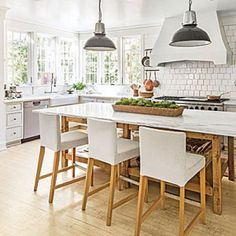 All-Time Favorite White Kitchens: Calm & Current Natural Kitchen