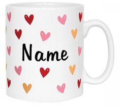 Heart Name Mug