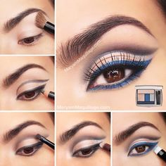 Step by step to fashion forward dramatic eyes using #JasonWuforLancome palette in Night Vision by Maryam Maquillage