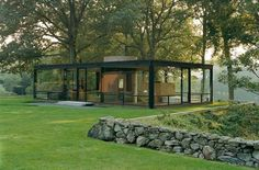 Philip Johnson's Glasshouse - what's not to like?