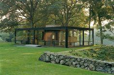glass house, philip johnson