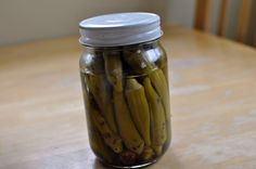 Pickled Okra/Pickled Asparagus - Amish Recipes Oasis Newsfeatures