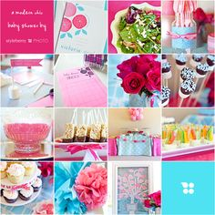cute baby shower idea for a girl!