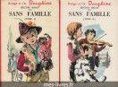 Sans famille, Hector Malot - Tomes 1 et 2 - Bibliothèque Rouge et Or Dauphine