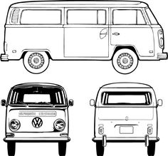 blank bus for artwork....