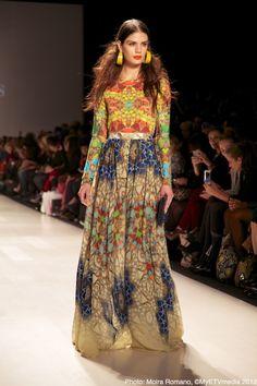 Lucian Matis Spring/Summer 13 collection at World Mastercard Fashion Week.