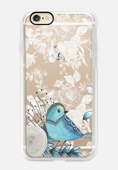 Blue Bird Casetify iPhone 7 Case and Other iPhone Covers - TITLE by Li Zamperini | #Casetify
