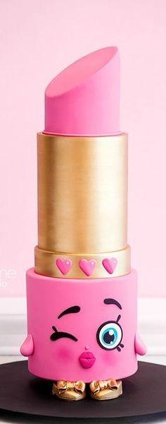 Shopkins Lipstick Cake                                                                                                                                                     More