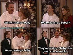 youre going to have another sibling Eric, not a niece/nephew I love boy meets world X.X