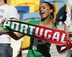 Portuguese fan - Euro 2012 in Pictures.