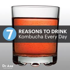 reasons to drink kombucha every day title