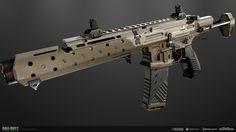"ArtStation - ""Lynx"" CQ300 Assault Rifle, Cory Billett"
