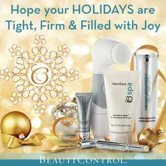 We hope your holidays are Tight, Firm & Filled with JOY! #BeautiControl #InstantFaceLift wwww.beautipage.com/fountain