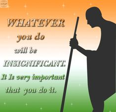 This Gandhi jayanti let us all remember the lessons Bapu taught us. - Find And Share On AskGif Gif Pictures, Images Photos, Gif Greetings, Happy Gandhi Jayanti, Gif Photo, Photo Wallpaper, Let It Be, Teaching, Free